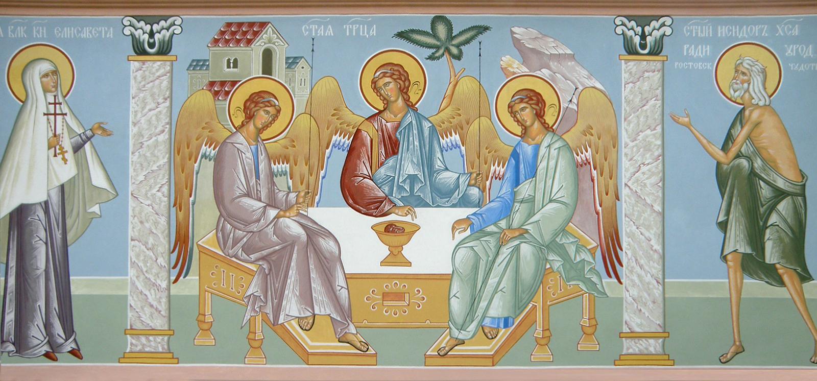 Freske Trinitatiskirche, Ikone, Ikonenmaler Alexander Stoljarov