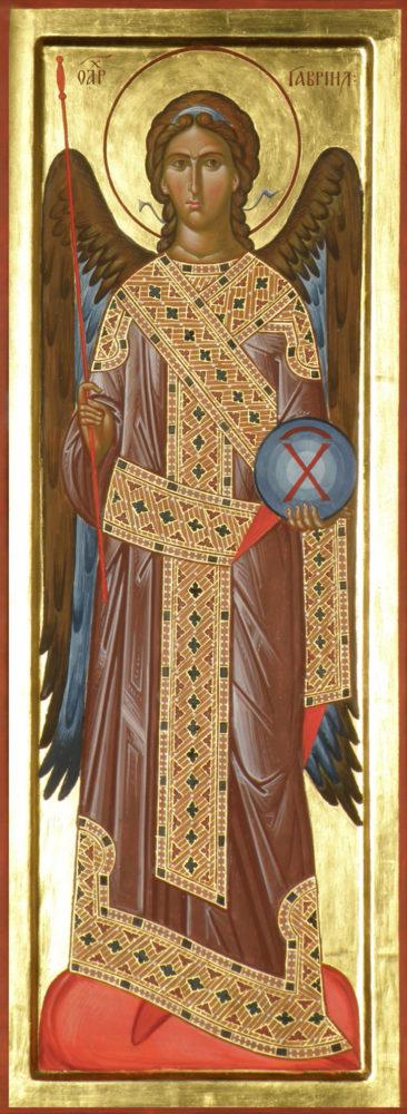 Erzengel Gabriel, Ikonen, Ikonenmaler Alexander Stoljarov