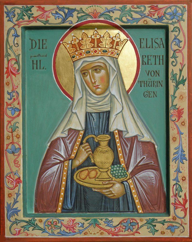 Hl. Elisabeth von Thueringen, Ikone, Ikonenmaler Alexander Stoljarov