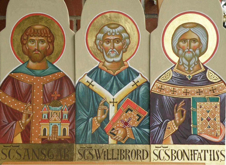 Hl. Ansgar, Hl. Willibrod, Hl. Bonifatius