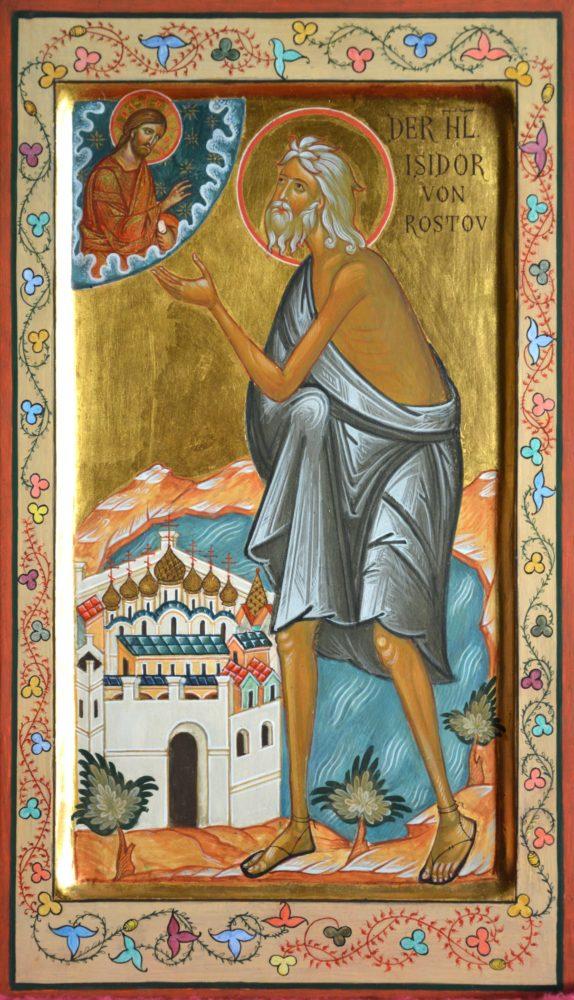 Hl. Isidor, Ikonen, Ikonenmaler Alexander Stoljarov