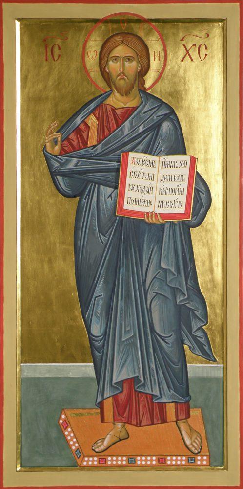Jesus Christus, Ikone, Ikonenmaler Alexander Stoljarov