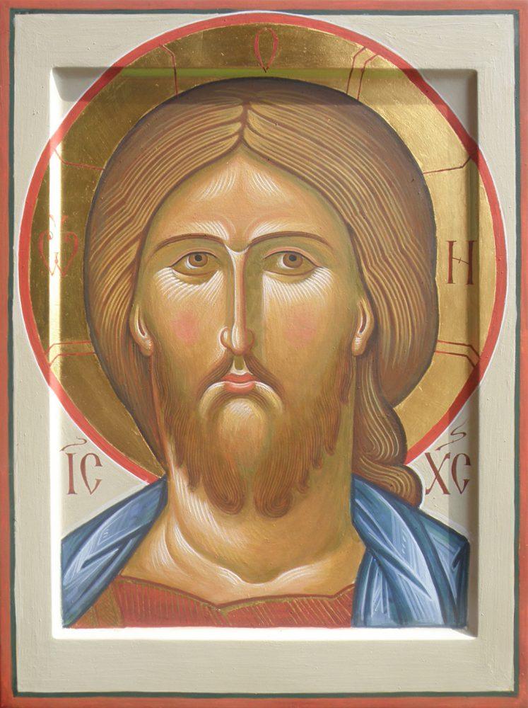 Jesus Opletschnyj Spas, Ikone, Ikonenmaler Alexander Stoljarov