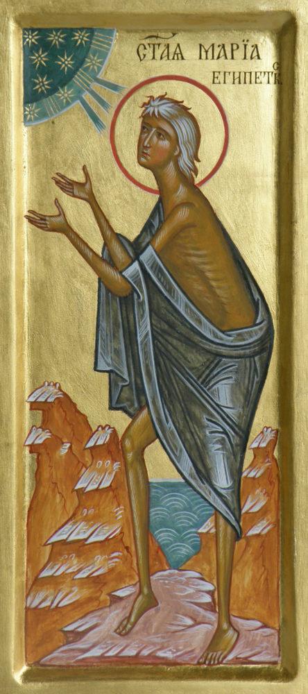 Maria Ägypten, Ikonen, Ikonenmaler Alexander Stoljarov