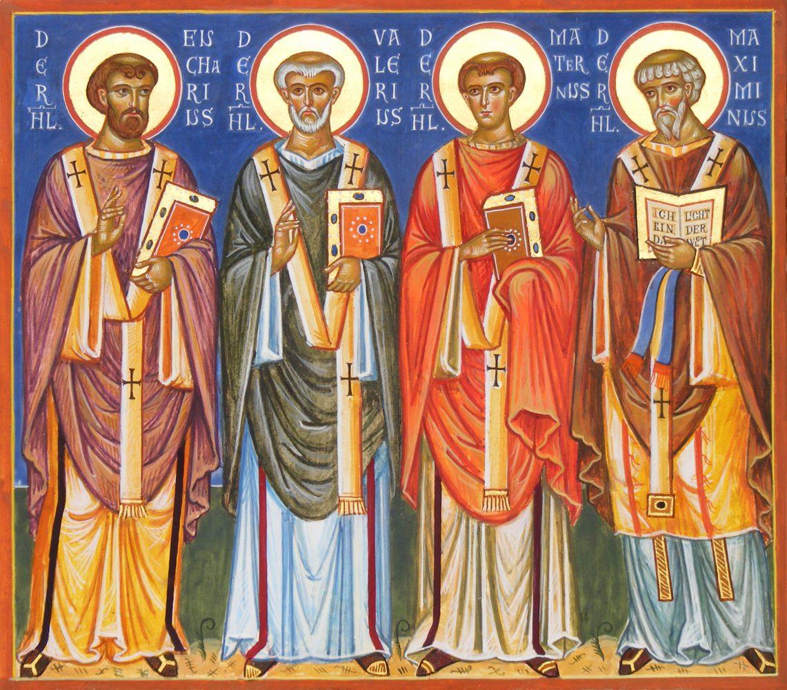 Trierer Bischöfe, Ikone, Ikonenmaler Alexander Stoljarov