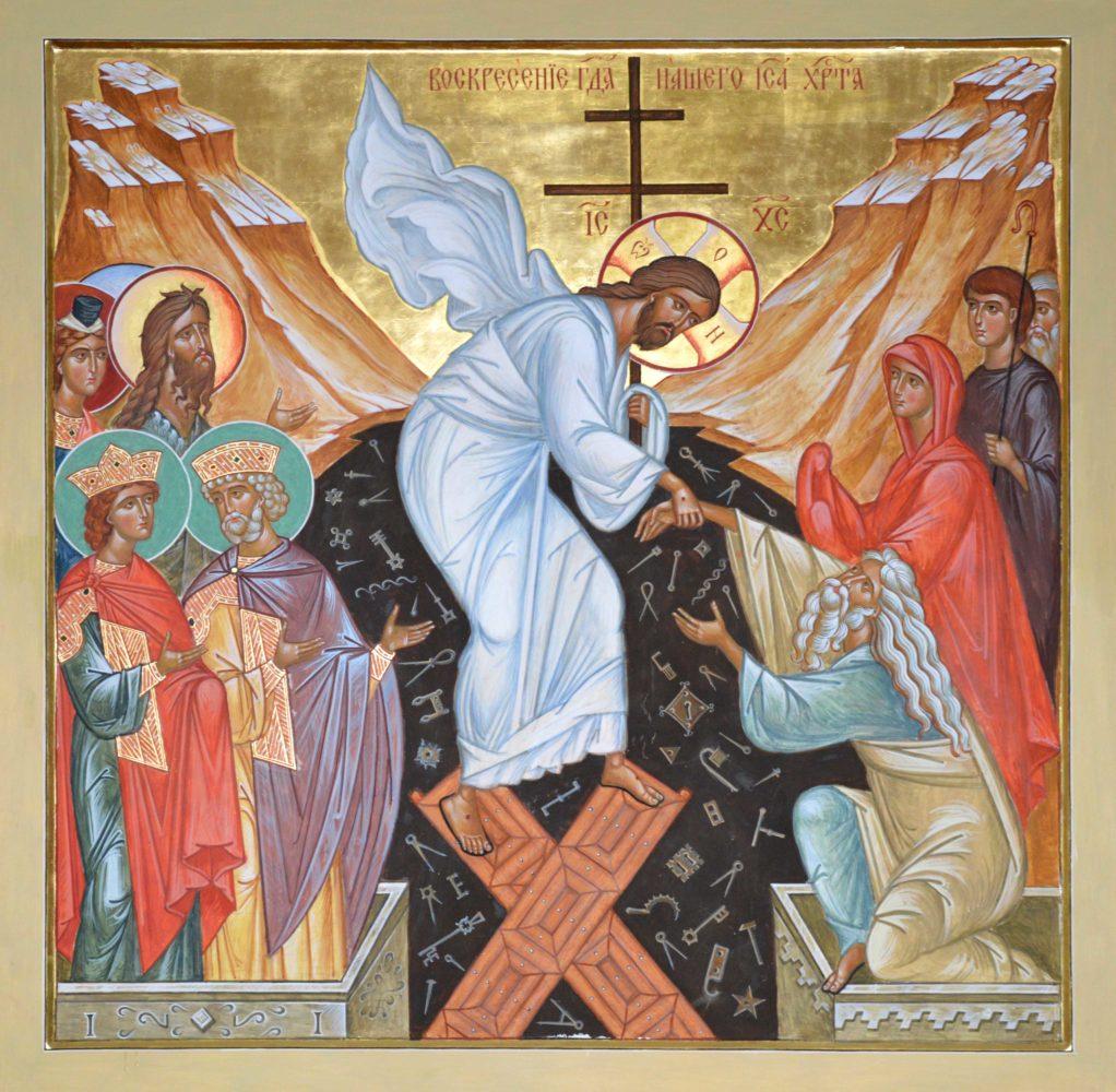 Die Auferstehung Christi, Ikonen, Ikonenmaler Alexander Stoljarov
