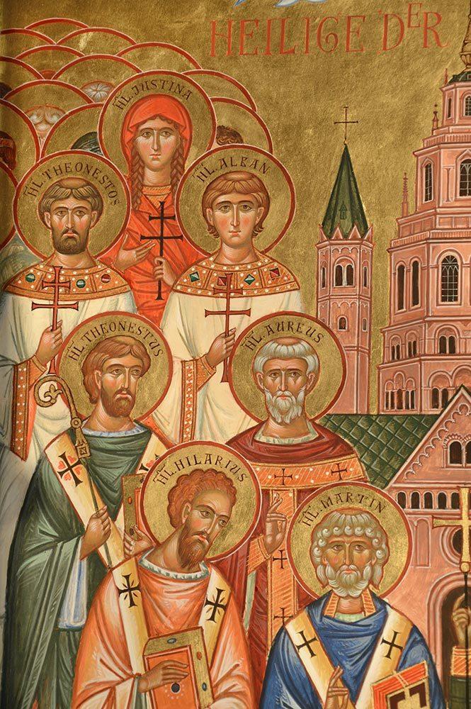 Heilige der Stadt Mainz, Ikonenmalerei, Ikonen, Ikonenmaler